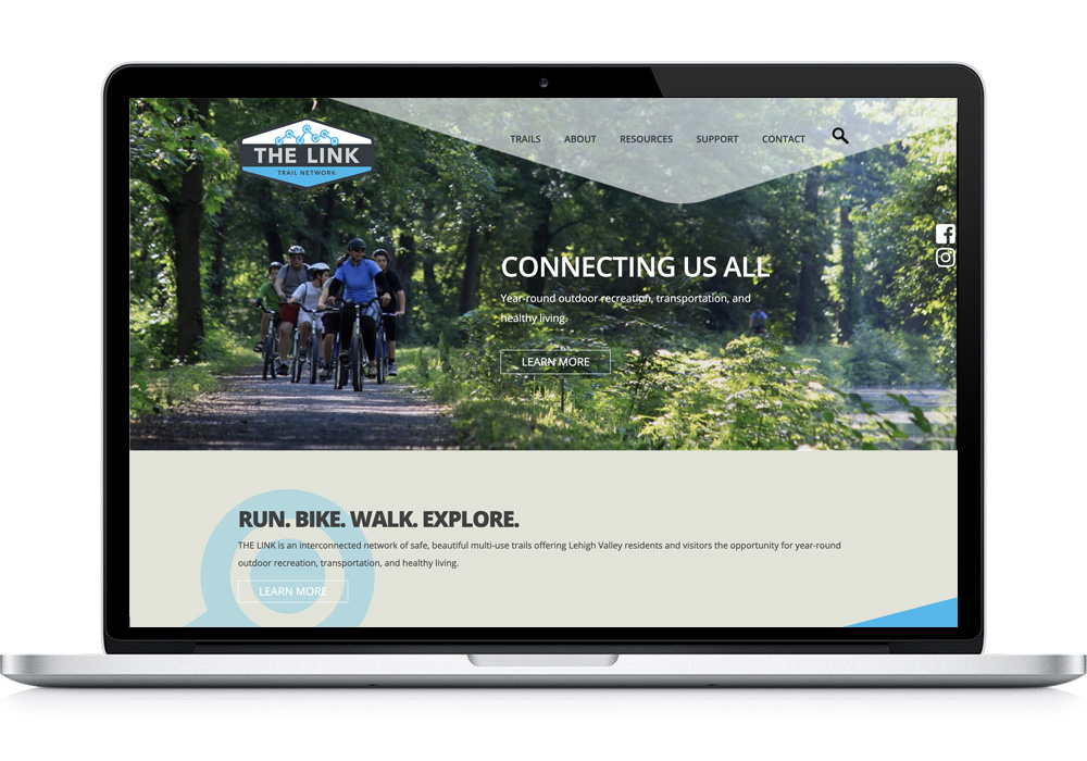 The Link Trails Website